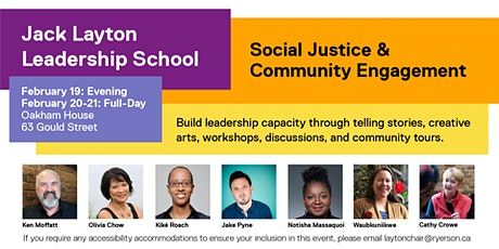 Jack Layton Leadership School tickets