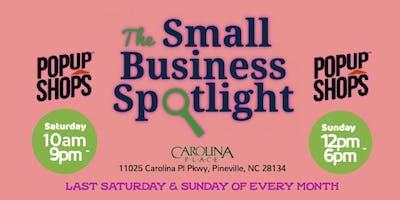 Small Business Spotlight: Pop Up Shop (Day 1)
