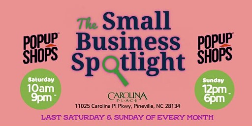 Small Business Spotlight: Pop Up Shop (Day 1)