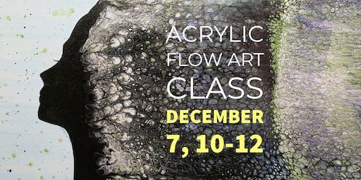 Flow Art Paint Class