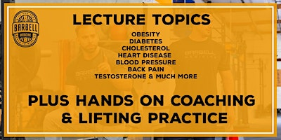 Barbell Medicine Seminar-Virginia Beach, VA