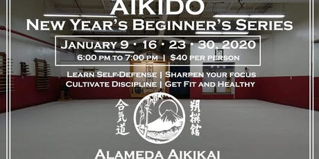New Years Aikido Beginners Series tickets