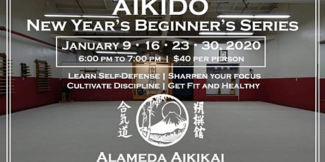 New Years Aikido Beginners Series tickets