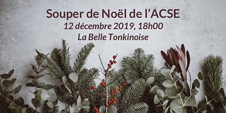 Souper de Noël de l'ACSE billets