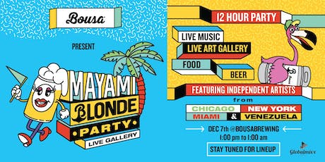 Mayami Blonde Party Live Gallery tickets
