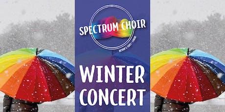 Spectrum - winter concert tickets