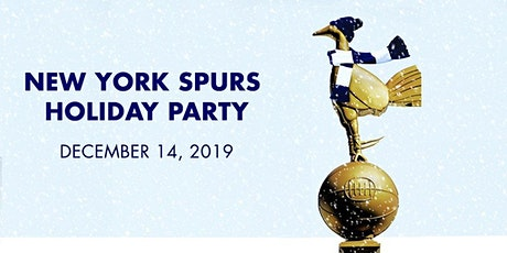 NY Spurs Christmas Party tickets
