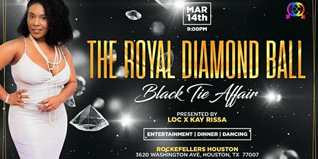 The ROYAL DIAMOND Ball tickets