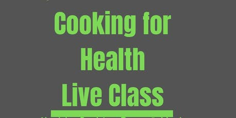 Cooking for Health tickets