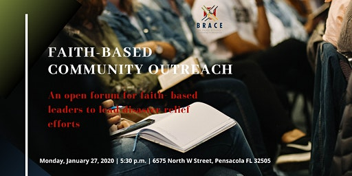 BRACE Faith-based Community Outreach Coalition Meeting