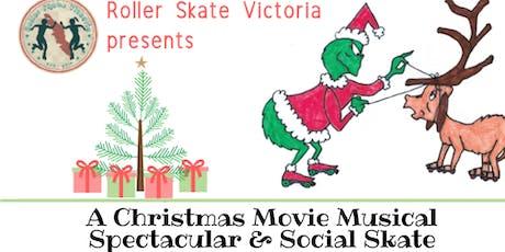Roller Christmas Show & December Social Skate tickets