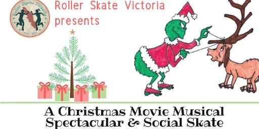 Roller Christmas Show & December Social Skate