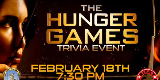 The Hunger Games Trivia Event!