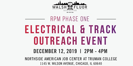 Walsh-Fluor Electrical & Track Outreach Event