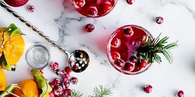 Holiday Cocktail Class at 15 Walnut