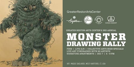Monster Drawing Rally tickets