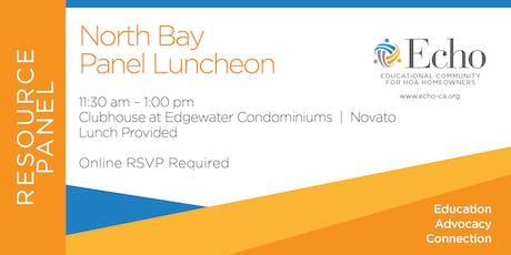 Echo North Bay Resource Panel Luncheon tickets