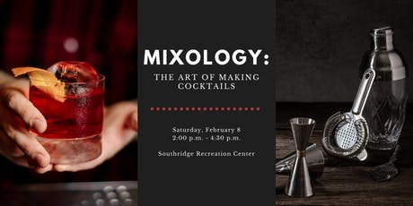 Mixology: The Art of Making Cocktails tickets