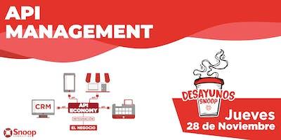 """Desayuno ejecutivo: """"API Management"""" - 28 de Noviembre"""