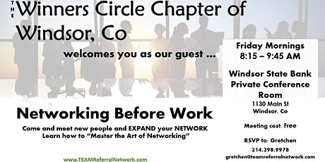 Winners Circle of Windsor ~ TEAM Referral Network tickets