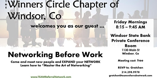 Winners Circle of Windsor ~ TEAM Referral Network