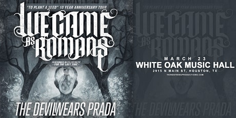 We Came As Romans: To Plant A Seed 10 Year Anniversary Tour tickets