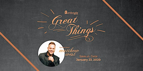 Birthright of Odessa's 35th Anniversary with Matthew West tickets