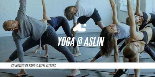 Yoga @ Aslin Brewery