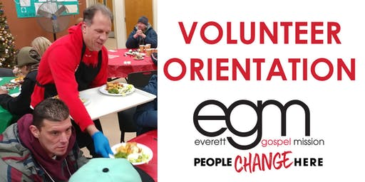 Volunteer Orientation- Everett Gospel Mission