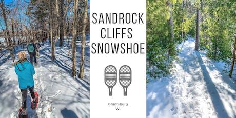 Sand Rock Cliffs Snowshoe tickets