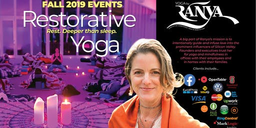 Yoga by Ranya Restorative Yoga + Sound Healing with Cacao Ceremony