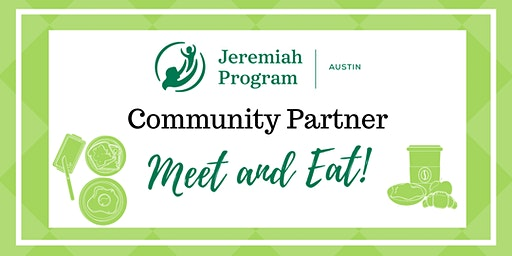 December 20 Community Partner Meet and Eat!