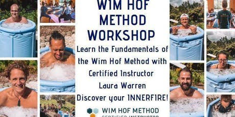 Wim Hof Method Workshop with Laura Warren tickets