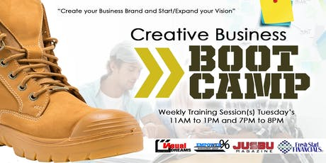 Creative Business Bootcamp tickets