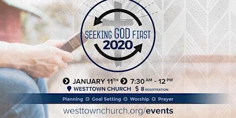 Seeking God 1st in 2020 tickets