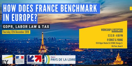 How does France Benchmark in Europe? GDPR, Labor Law and Tax tickets