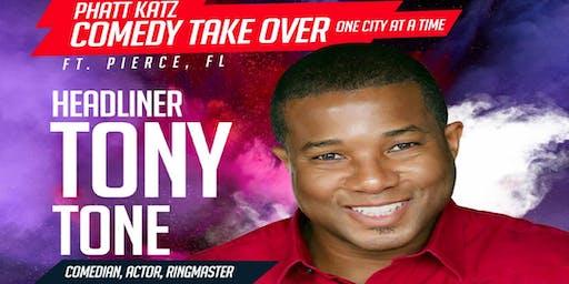 FT. PIERCE, FL- Phatt Katz Comedy: One City at a Time