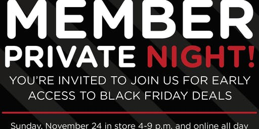 Sears Private Member Event