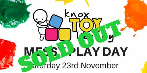 Knox Toy Library - 2019 Messy Play Day