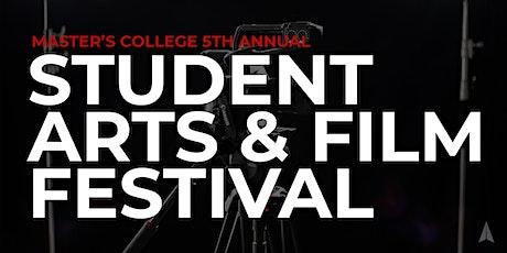 5th Annual Student Arts & Film Festival tickets