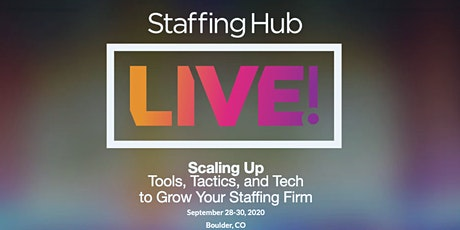 StaffingHub Live! 2020 tickets