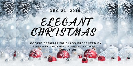 Elegant Christmas Cookie Decorating Class tickets