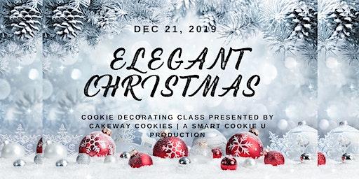 Elegant Christmas Cookie Decorating Class