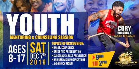 Youth Mentoring & Counseling Sessions - Word of Peace tickets