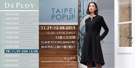 Taipei AW19 Pop-Up tickets