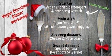 Vegan Christmas Dinner Workshop tickets