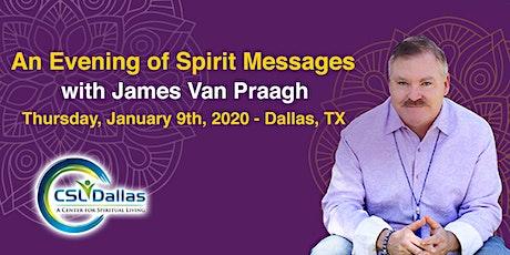 James Van Praagh - An Evening of Spirit Messages tickets