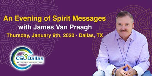 James Van Praagh - An Evening of Spirit Messages