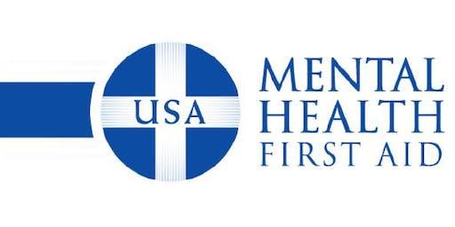 Adult Mental Health First Aid Training