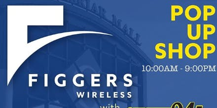 Figgers  Wireless Pop Up Lounge with Streetz 94.5 ATL
